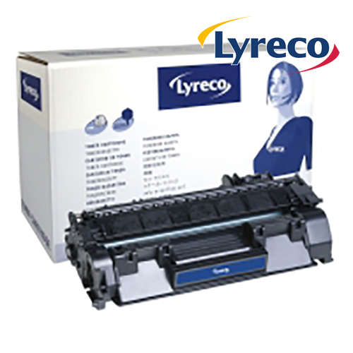 Lyreco Compatible 80A Black HP Laserjet Toner Cartridge CF280A