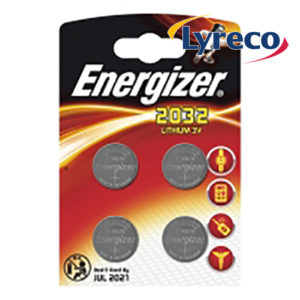 Energizer CR2032 Lithium Coin Cell Battery (4)