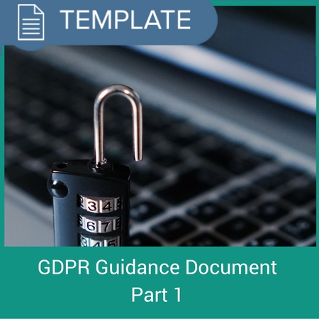 GDPR guidance document part 1